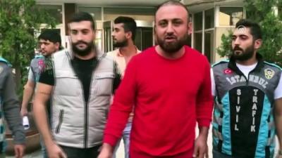 hanli - Trafiği tehlikeye düşürenlere gözaltı - İSTANBUL