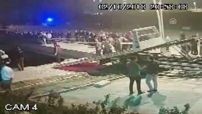 Trafik kazası güvenlik kamerasına yansıdı - ÇANKIRI