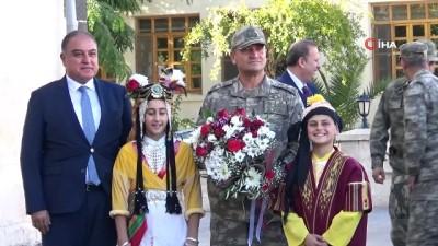 2'inci Ordu Komutanı Orgeneral Temel'den, Kilis Valisi'ne veda ziyareti