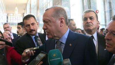 """Cumhurbaşkanı Erdoğan: """"Melih Bey benim dava ve yol arkadaşım'"""