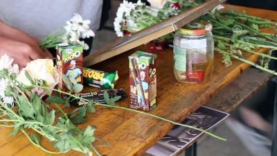 Hemzemin geçit kazasında hayatını kaybeden Sudenur için okulunda anma töreni - MANİSA