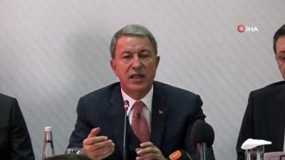 Hulusi Akar: 'Münbiç'ten sonra Fırat'ın doğusu temizlenecek'
