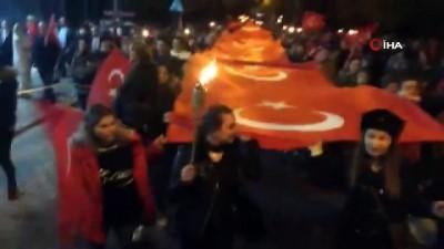 - Kırklareli'nde Cumhuriyet Yürüyüşü