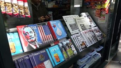 'Sahte haber' standı açıldı - NEW YORK