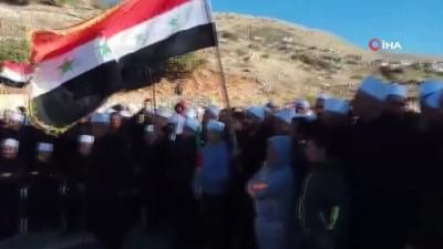 - Suriyeliler, İsrail'deki Seçimleri Protesto Etti
