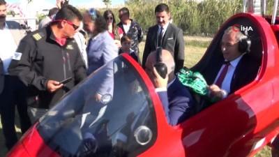 Turizm merkezlerinin telefonlarına yetişemiyor... Türkiye'nin ilk hava taksisi görücüye çıktı