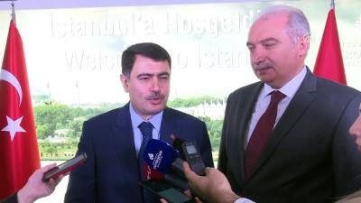 Vali Şahin'den Uysal'a veda ziyareti - İSTANBUL