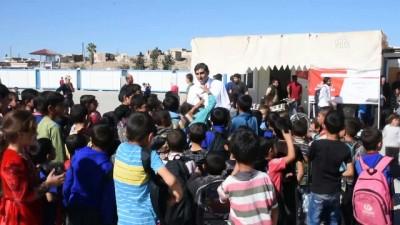 'Yeryüzü Doktorları' Suriye'de sağlık taraması yapıyor - AZEZ