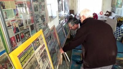 Bir odasını Cumhurbaşkanı Erdoğan'a ayırdı... Yaşlı çifte Belediye Başkanı Vidinel'den ziyaret