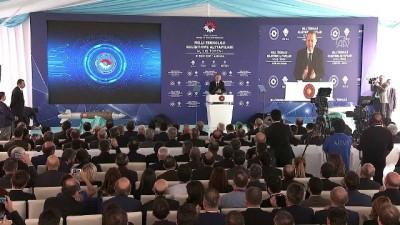 Cumhurbaşkanı Erdoğan: 'Siper adıyla başlattığımız milli uzun menzilli bölgesel hava füze savunma sisteminin hayırlı olmasını diliyorum' - ANKARA