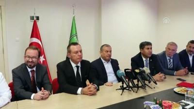 Denizlispor Başkanı Üstek, görevini Çetin'e devretti - DENİZLİ