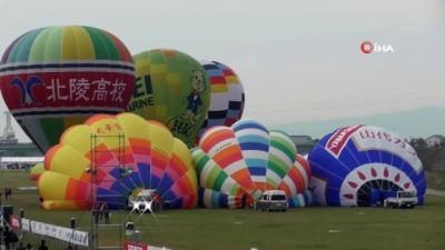 - Japonya'da Rengarenk Balon Festivali