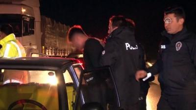 Polis, ehliyetsiz sürücüyü 100 kilometre kovaladı - KONYA