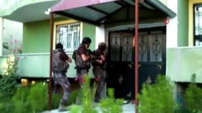 Teröristlerin eylemlerde kullanacağı silah ve mühimmatlar ele geçirildi