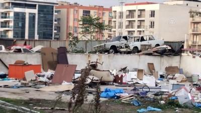 Yediemin deposundaki araçların çalındığı iddiası - İZMİR