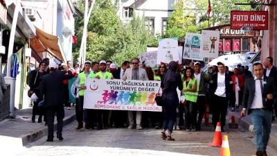 Dünya Yürüyüş Günü Gümüşhane'de kutlandı