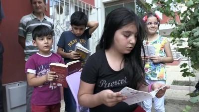 Kitapları çocuklar için sokağa taşıyor - AMASYA