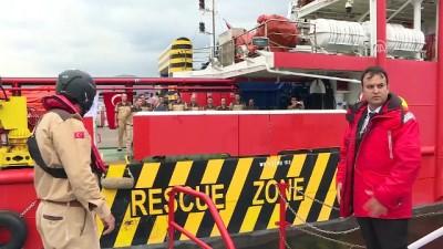 Kocaeli Körfezi Deniz Kirliliğine Acil Müdahale Bölgesel Tatbikatı (1) - KOCAELİ