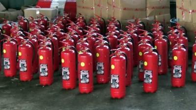 Köylere yangın söndürme tüpü dağıtılacak
