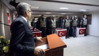 Ardahan'da güvenlik korucuları yemin etti
