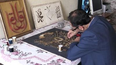 amator - Filografi ve ahşap yakma ustası imam - AFYONKARAHİSAR
