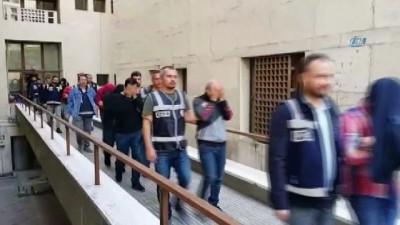 Fuhuştan gözaltına alınan 14 kişiden 11'i tutuklandı