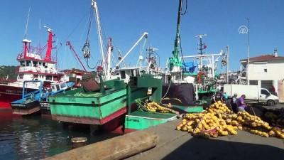 Karadeniz'de palamut bolluğu balıkçıların yüzünü güldürdü - ZONGULDAK