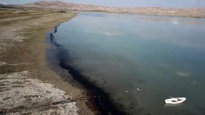 Karataş Gölü'ndeki su kuşları havadan görüntülendi - BURDUR