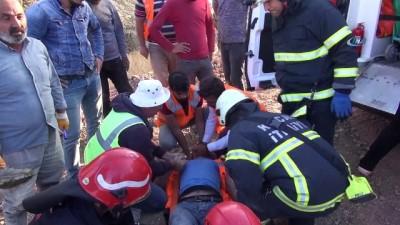 Kuzey Marmara Otoyolu inşaatında göçük: 2 yaralı