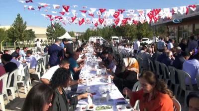 Şanlıurfa'da 2'nci İsot Festivali devam ediyor... Festival havadan görüntülendi