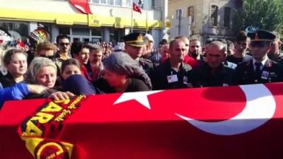Şehit Uzman Çavuş Ömer Yiğit Ulus son yolculuğuna uğurlanıyor