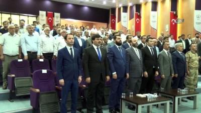 konferans -  Siverek'te camiler ve din görevlileri haftası kutlandı