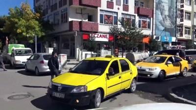 bassagligi - Taksicilerden terör saldırısına tepki - KARS