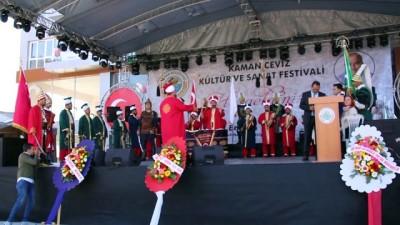 27. Kaman Ceviz Kültür ve Sanat Festivali başladı - KIRŞEHİR
