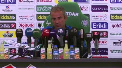 Bursaspor-MKE Ankaragücü maçının ardından - İsmail Kartal - BURSA