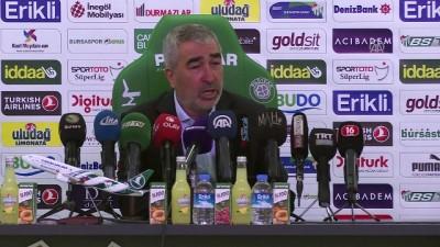 Bursaspor-MKE Ankaragücü maçının ardından - Samet Aybaba - BURSA
