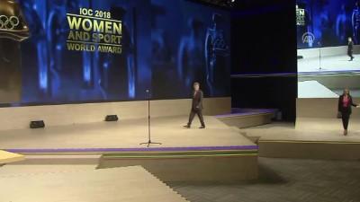 konferans - Eczacıbaşı'nda 2018 Kadın ve Spor Dünya Ödülü sevinci - İSTANBUL