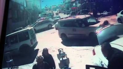 Kontrolden çıkan otomobil 7 araca çarptı: 3 yaralı - KIRŞEHİR