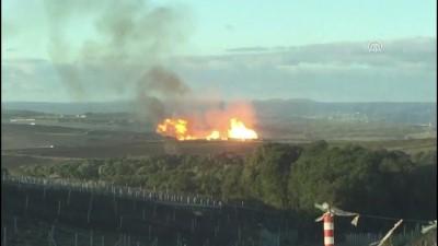 Silivri'de doğalgaz hattında patlama - İSTANBUL