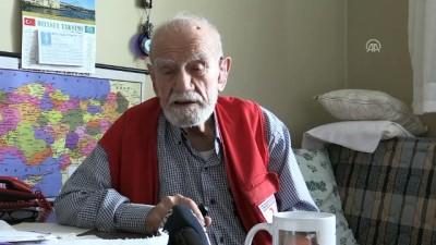 Türk Kızılayı'nın şefkat eli yaşlılara da dokunuyor - DÜZCE