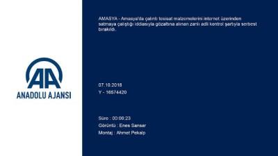 Amasya'da hırsızlık iddiası (2)