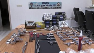 Amasya'da hırsızlık iddiası