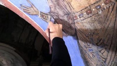 Bin yıllık fresklere Türk ve İtalyan dokunuşu - NEVŞEHİR