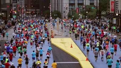 Chicago Maratonu koşuldu - CHICAGO