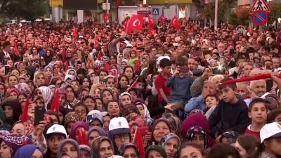 Cumhurbaşkanı Erdoğan: 'Teröre bulaşmış olanlar sandıktan çıkarsa kayyum tayinleriyle yolumuza devam edeceğiz' - ANKARA