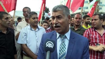 Gazze'de 'işsizlik oranlarındaki yükseliş' protesto edildi