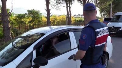 Jandarmadan hava destekli trafik denetimi - MANİSA