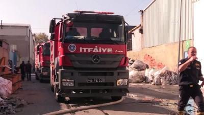 guvenlik onlemi - Plastik geri dönüşüm tesisinde çıkan yangın kontrol altına alındı - BURSA