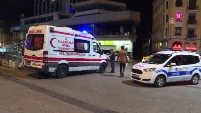 metro istasyonu - Taksim Meydanı'nda erkek cesedi bulundu - İSTANBUL