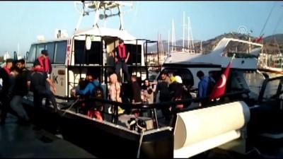 131 düzensiz göçmen yakalandı - MUĞLA
